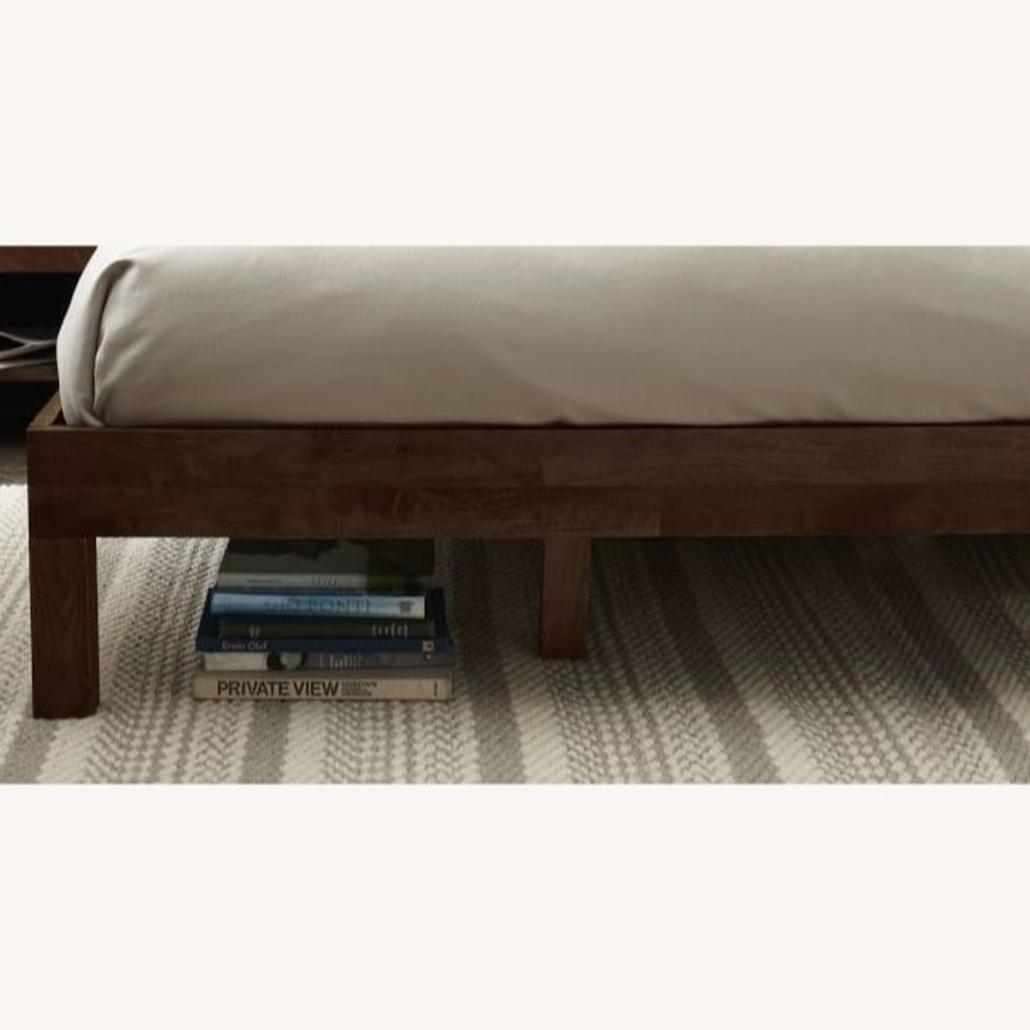 West Elm Leather + Boerum Tall Bed - image-2