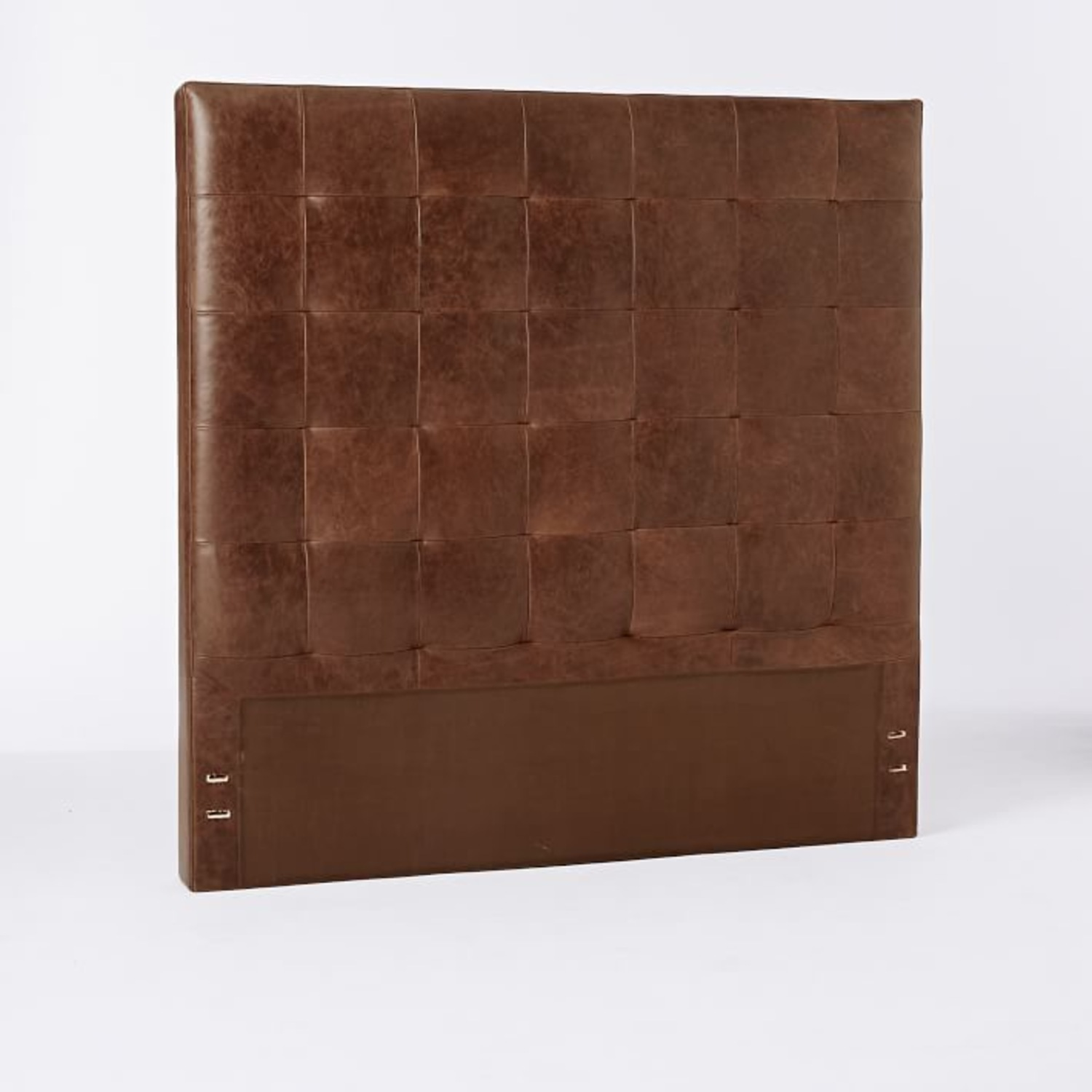 West Elm Leather + Boerum Tall Bed - image-4