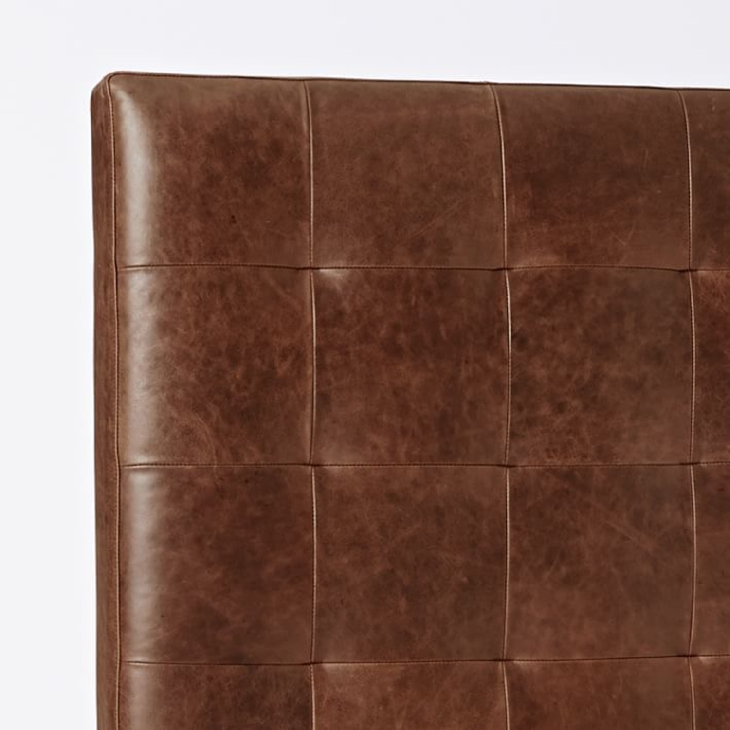 West Elm Leather + Boerum Tall Bed - image-5