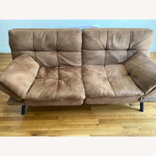Used Walmart Foam Futon Sofa Bed for sale on AptDeco