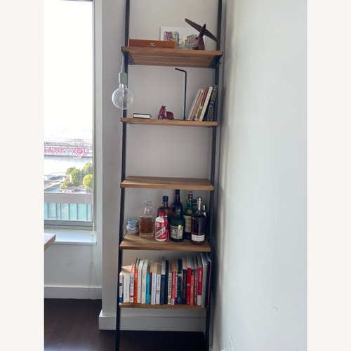 Used From The Source Wood Bookcase for sale on AptDeco