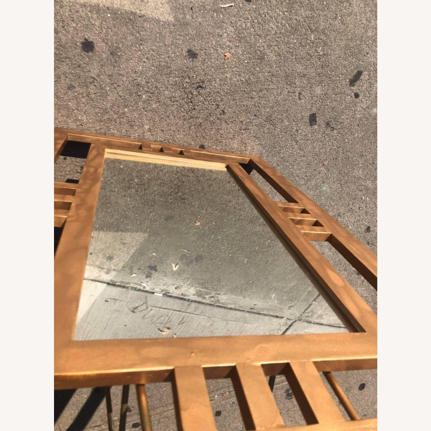 Gold Painted Wooden Framed Mirror  - image-15