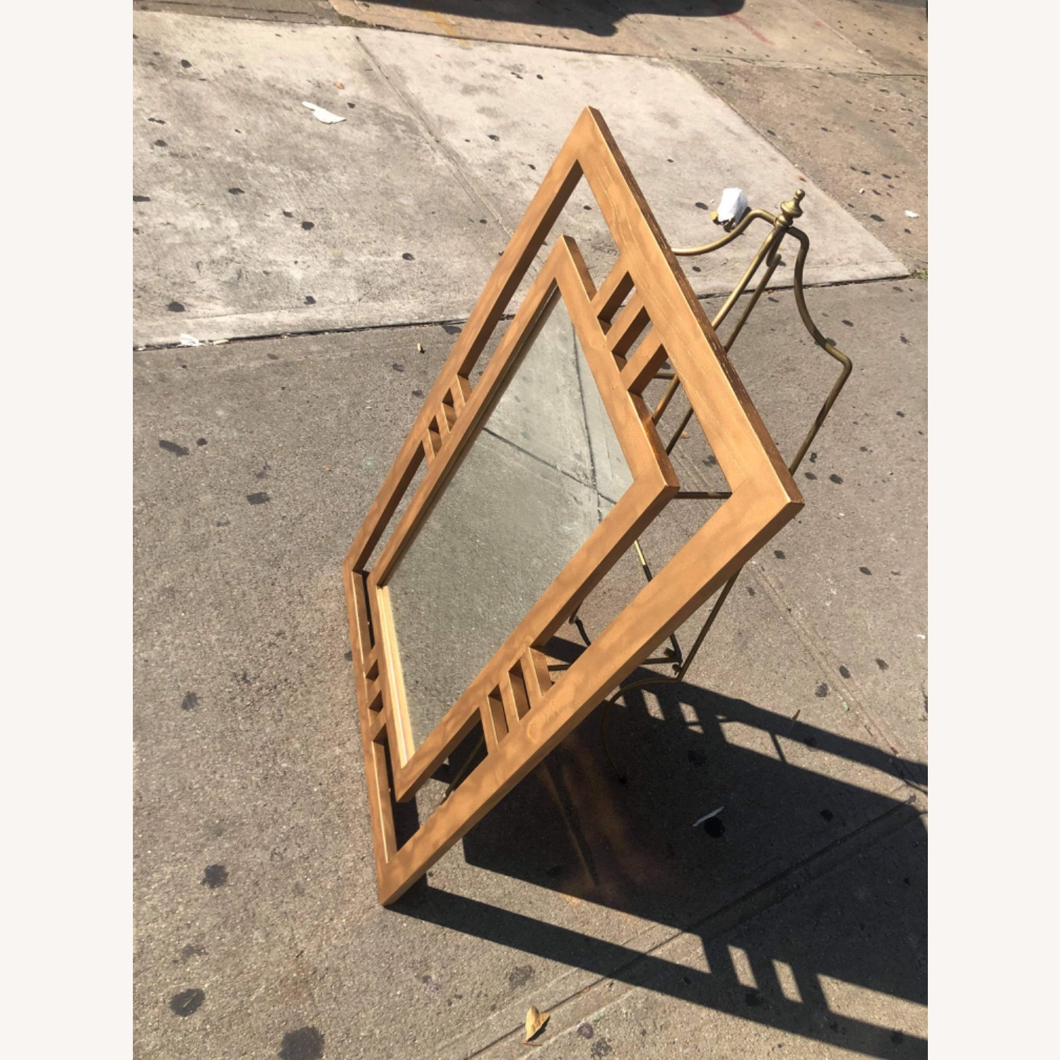 Gold Painted Wooden Framed Mirror  - image-13