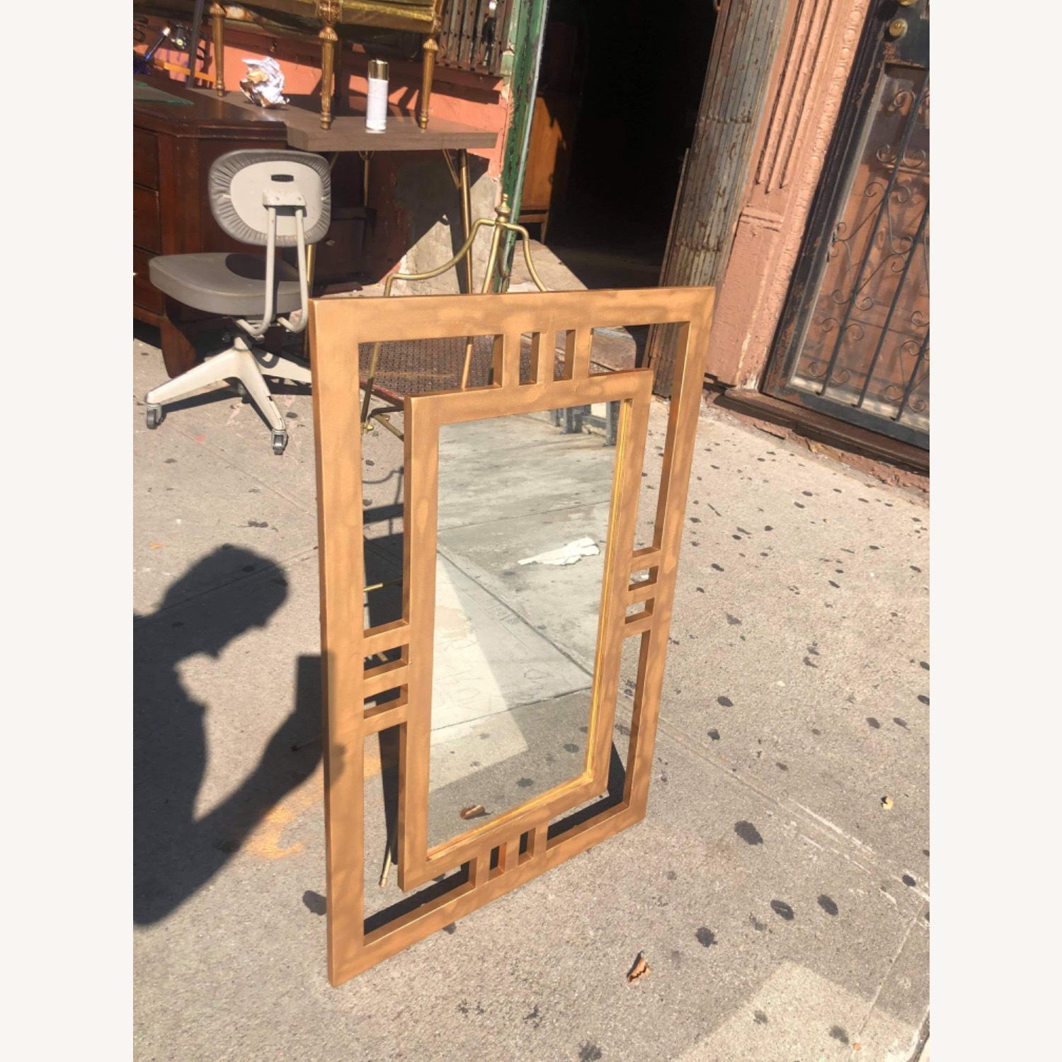Gold Painted Wooden Framed Mirror  - image-10