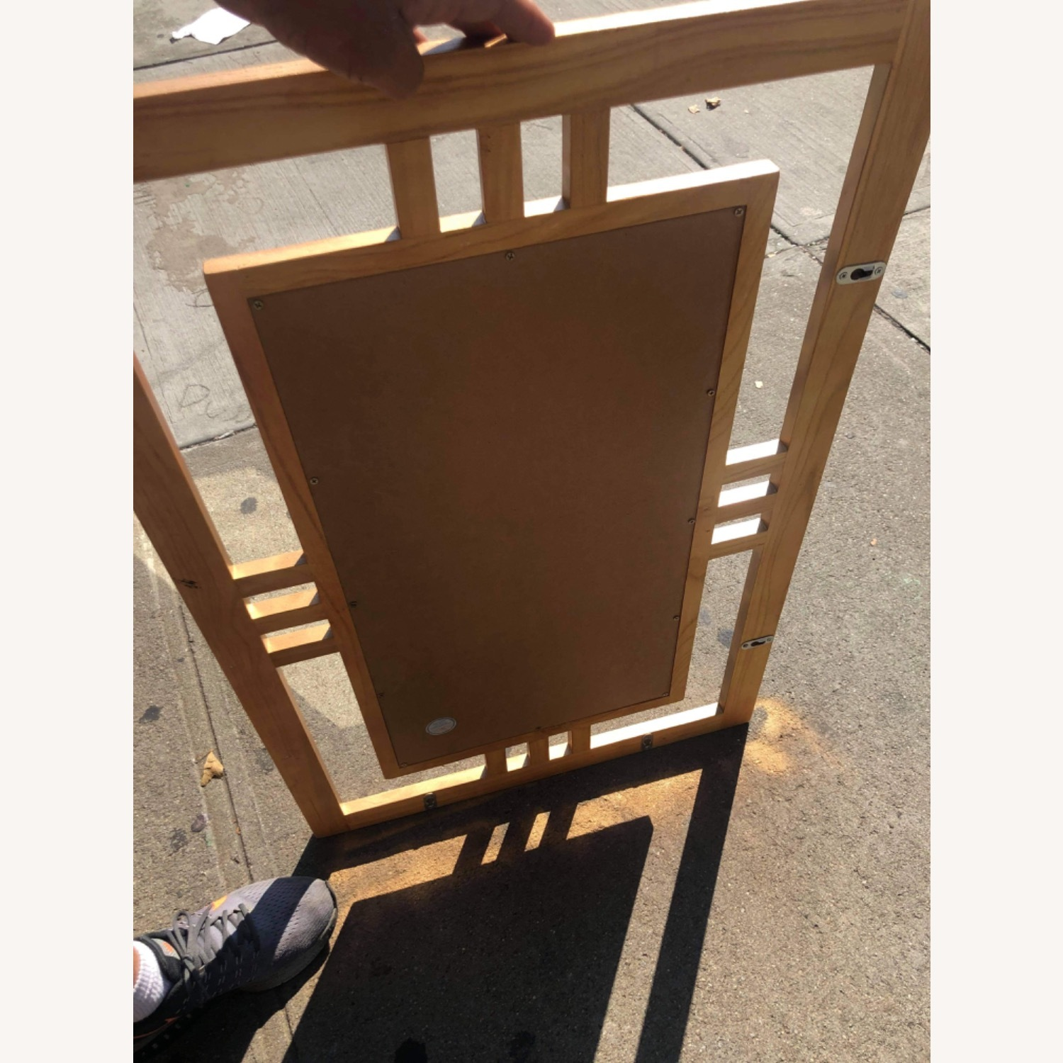 Gold Painted Wooden Framed Mirror  - image-7