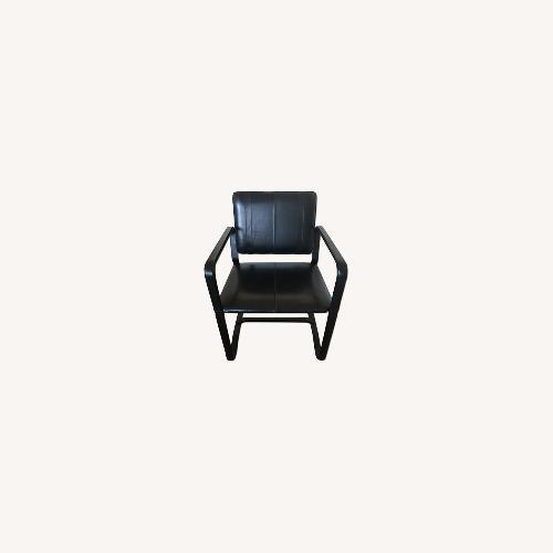 Used Restoration Hardware Black Buckle Chair for sale on AptDeco