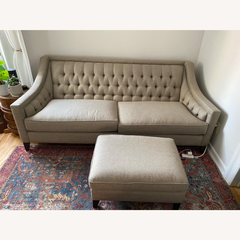 Arhaus Rylan Gray Sofa - image-2