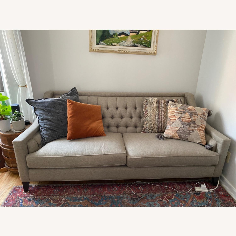 Arhaus Rylan Gray Sofa - image-1