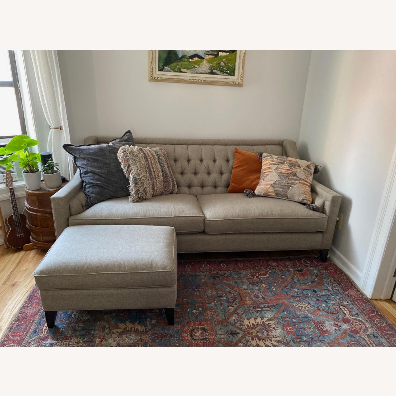 Arhaus Rylan Gray Sofa - image-0
