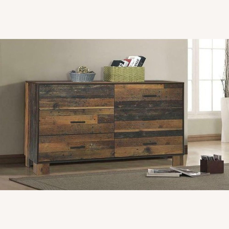 Dresser In Rustic Pine Finish - image-2