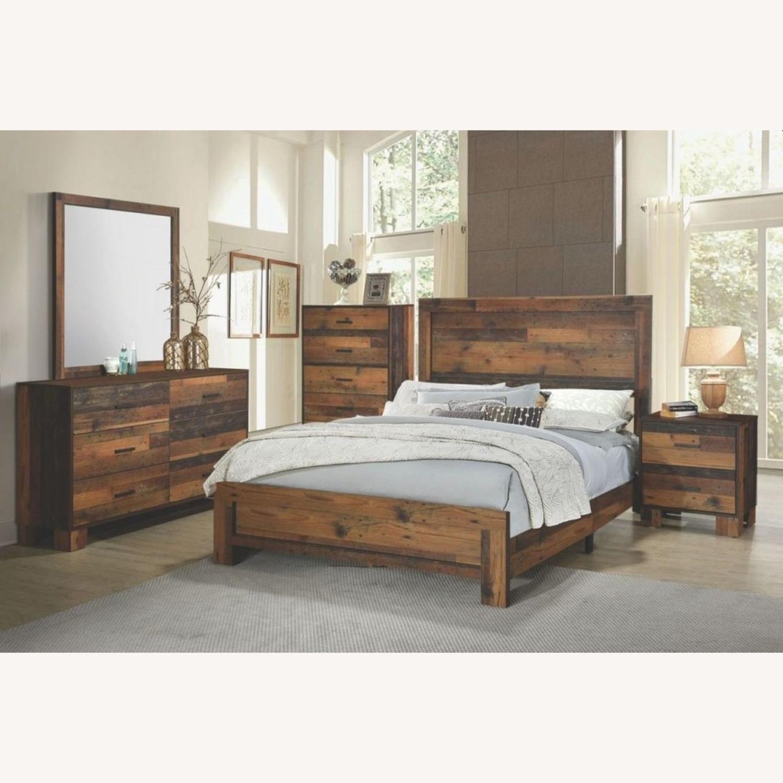 Dresser In Rustic Pine Finish - image-3