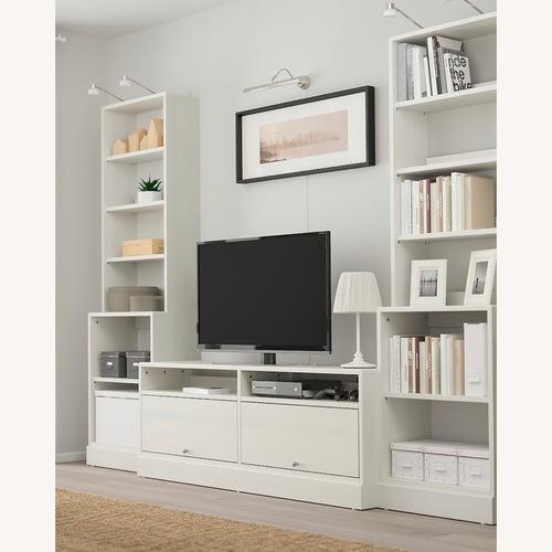 Used IKEA Havsta White TV Wall Unit for sale on AptDeco