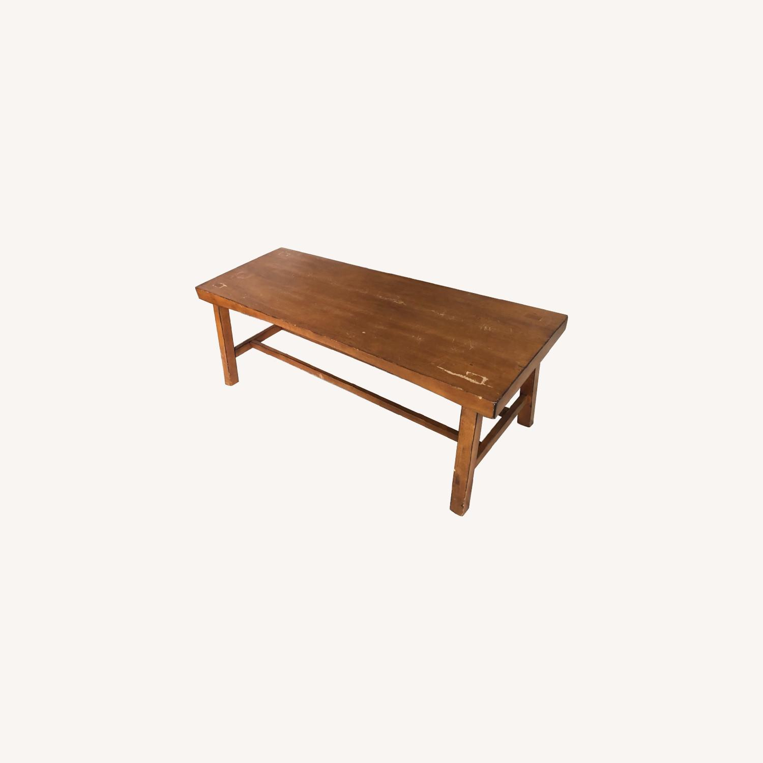 Pottery Barn Tibetan Coffee Table - image-9