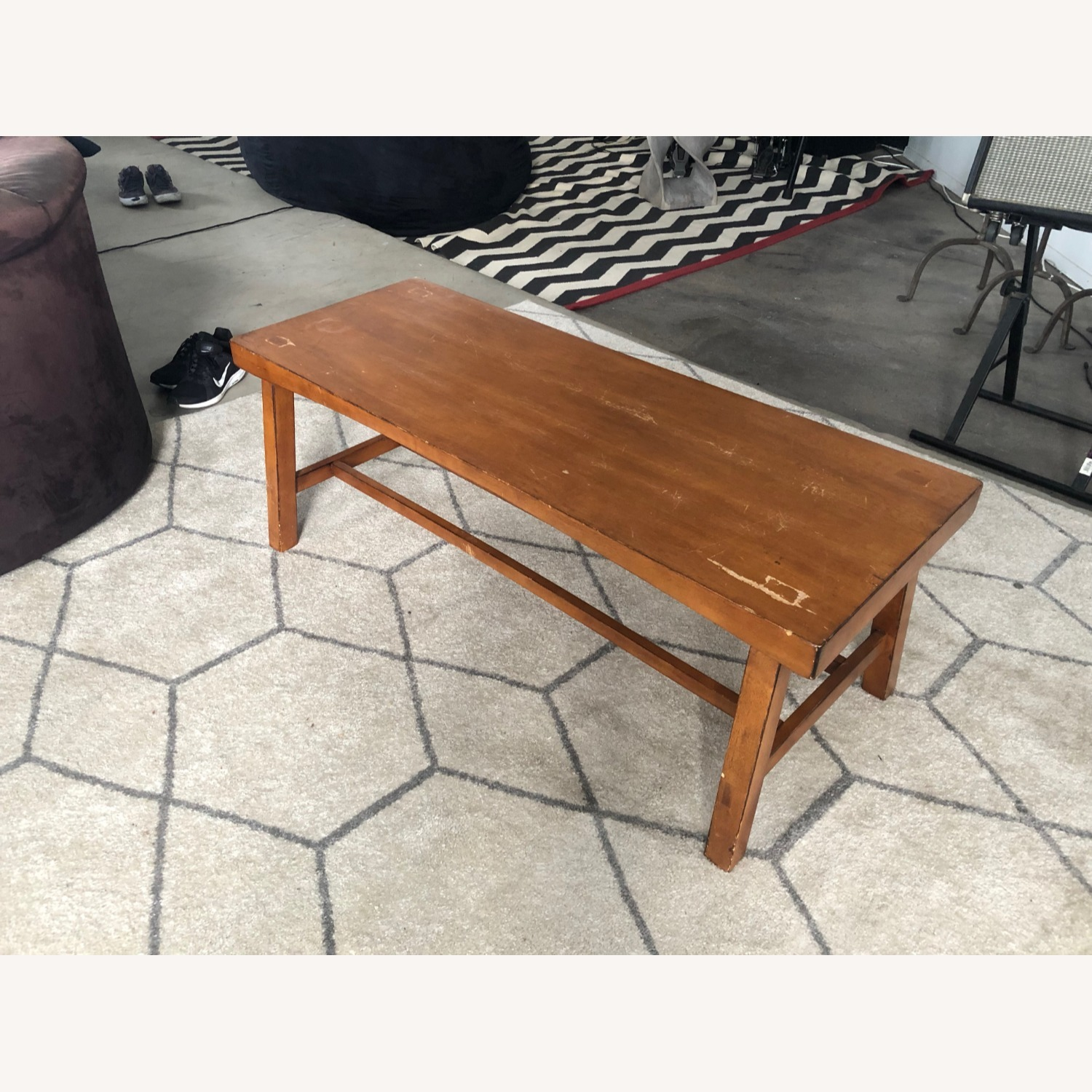 Pottery Barn Tibetan Coffee Table - image-0