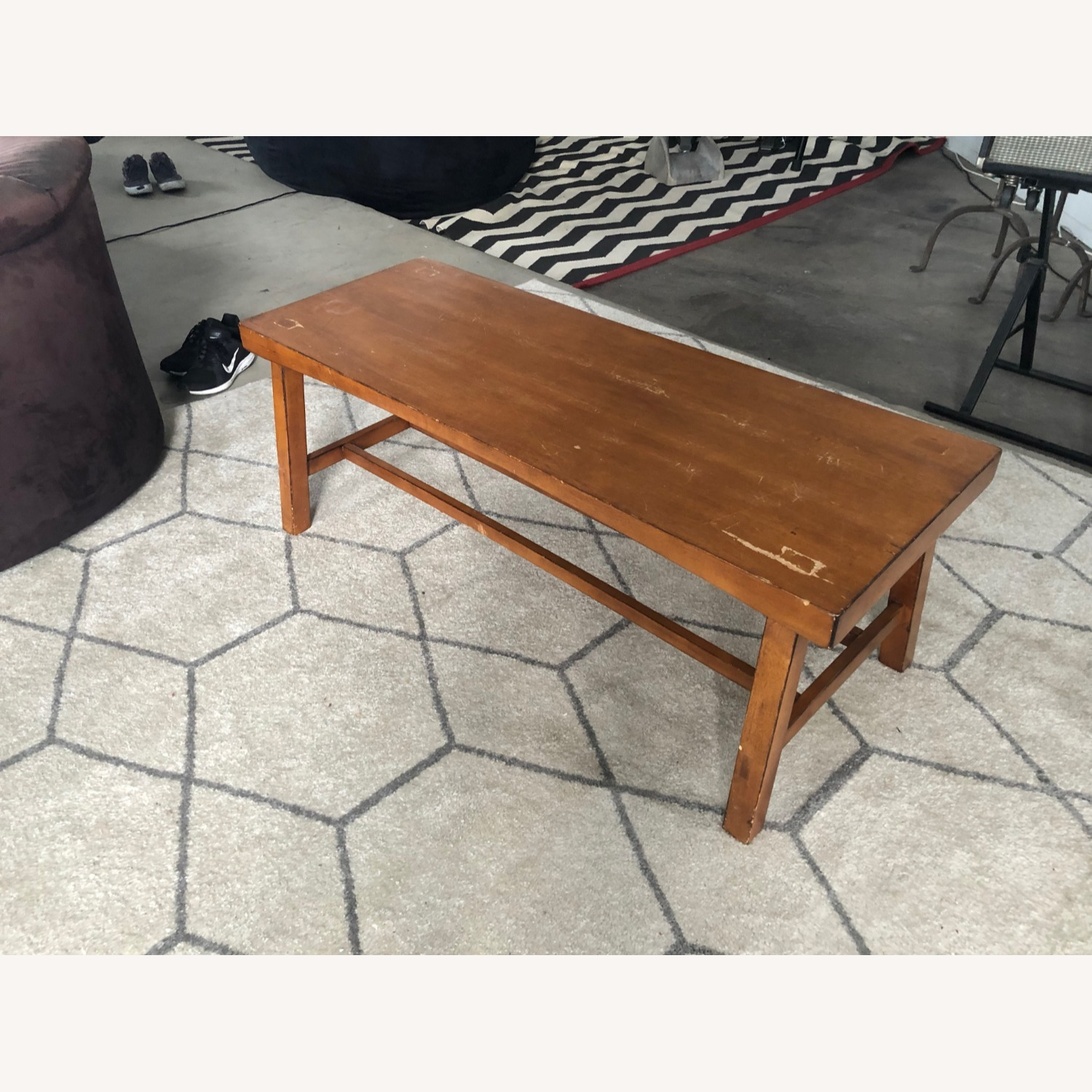 Pottery Barn Tibetan Coffee Table - image-1