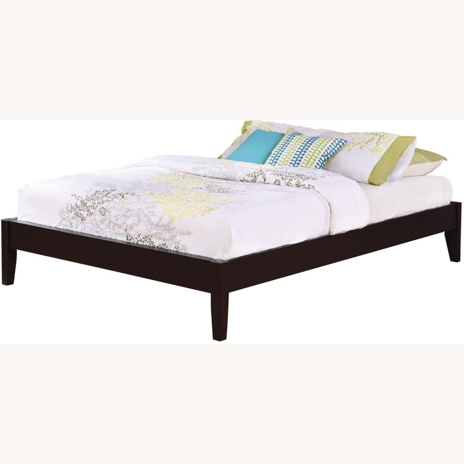 Versatile King Bed In Cappuccino Finish - image-1