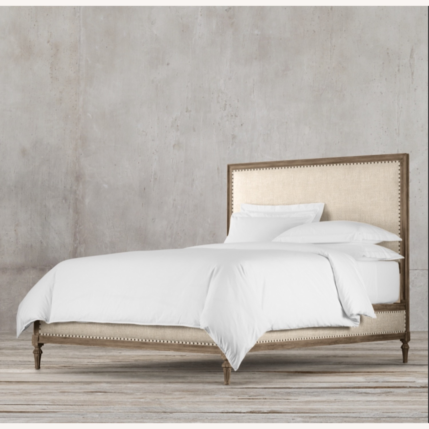 Restoration Hardware Maison Fabric Queen Bed - image-1