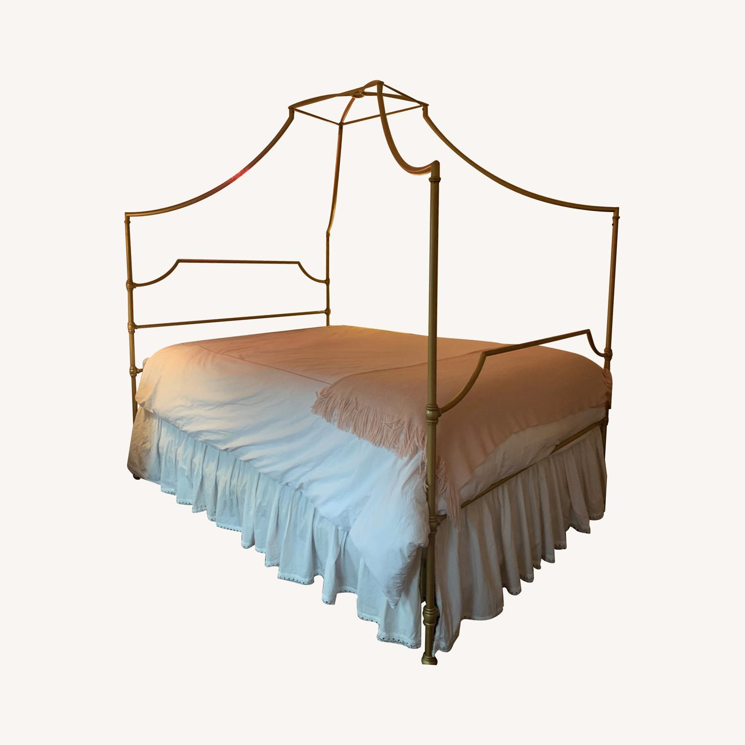 Pottery Barn Teen Maison Canopy Queen Bed - image-0