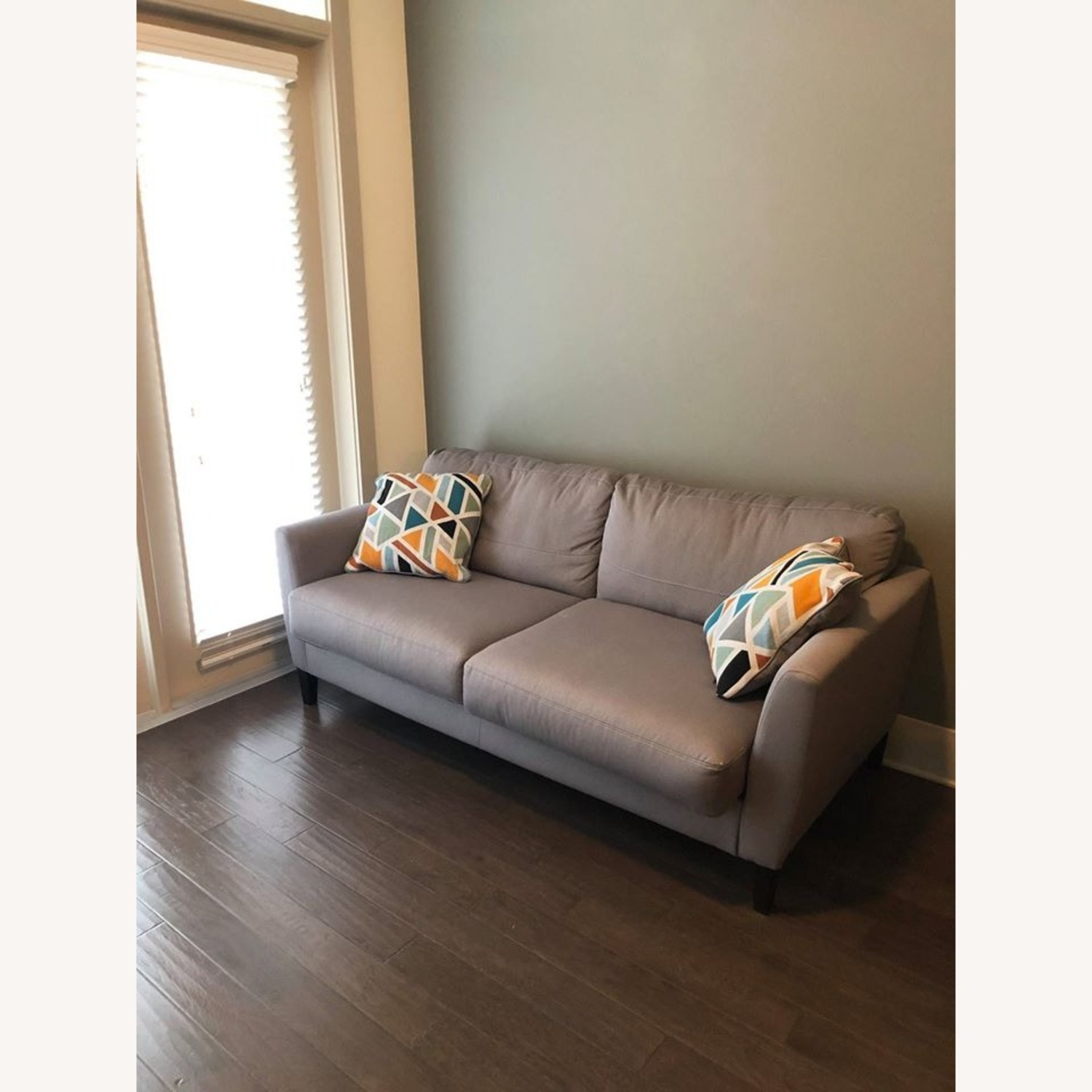Ashley Furniture Comfortable Grey Couch - image-2