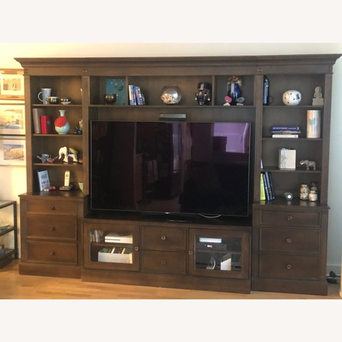 Used Ethan Allen Wagner Media Center/Wall Unit for sale on AptDeco