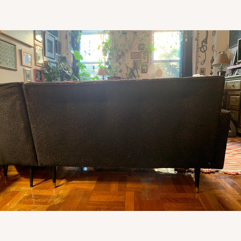 Vintage Mid Century Modern 2 Piece Sectional Sofa - image-6