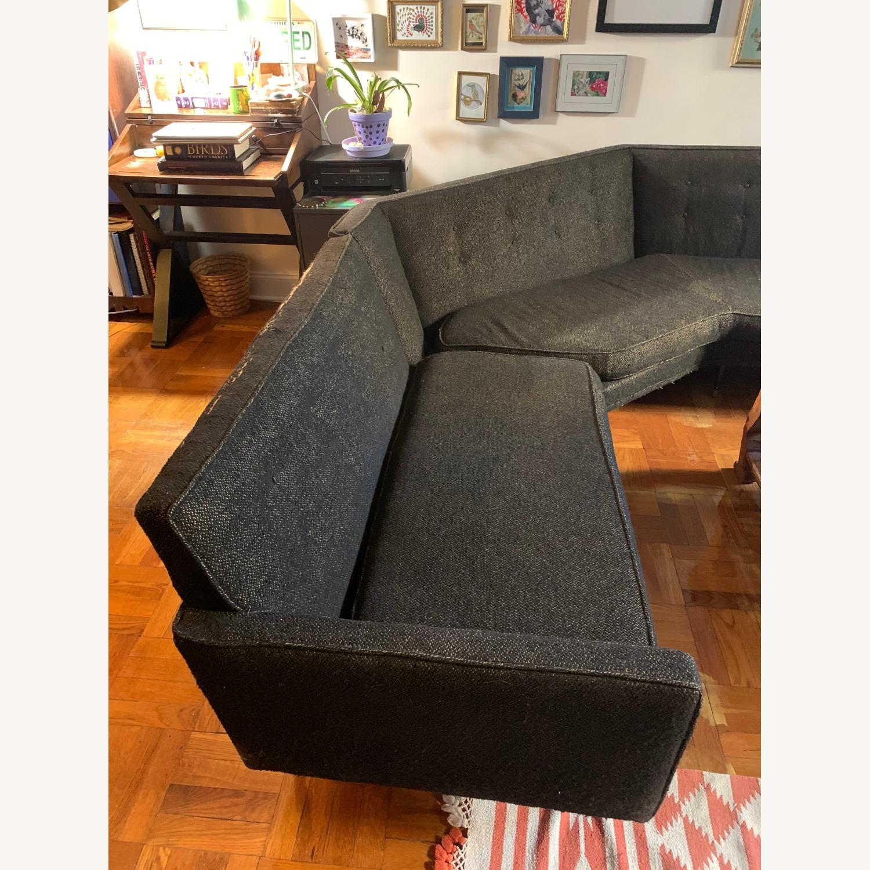 Vintage Mid Century Modern 2 Piece Sectional Sofa - image-2