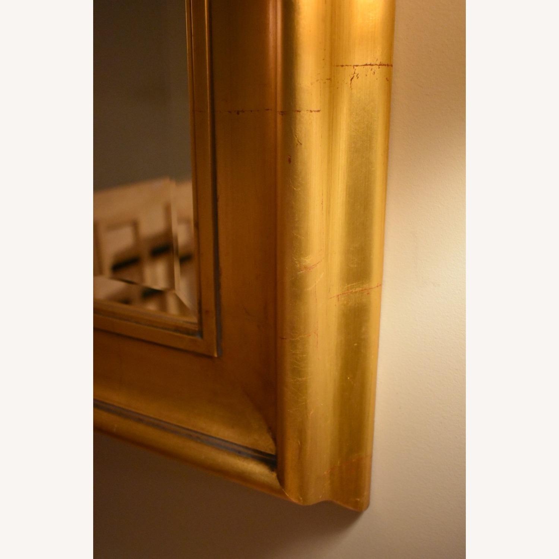 Gold Leaf Framed Mirror - image-2