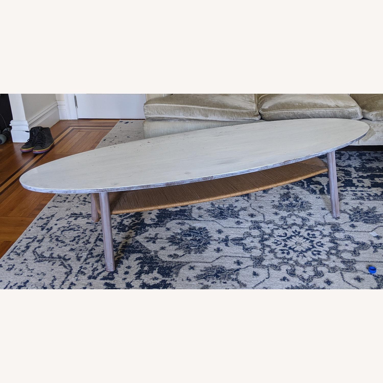 IKEA Surf White Table - image-2