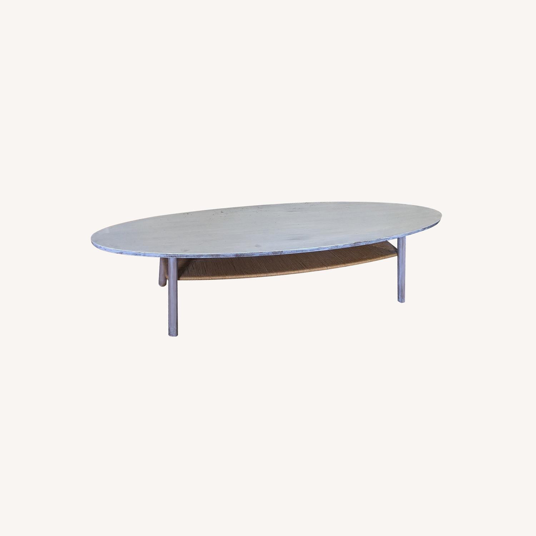 IKEA Surf White Table - image-0
