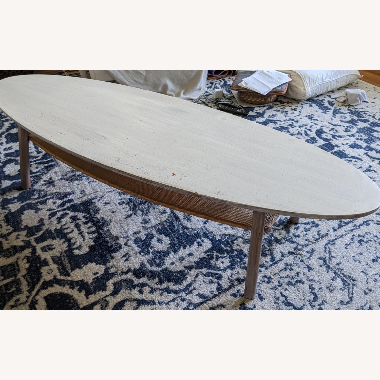 IKEA Surf White Table - image-1