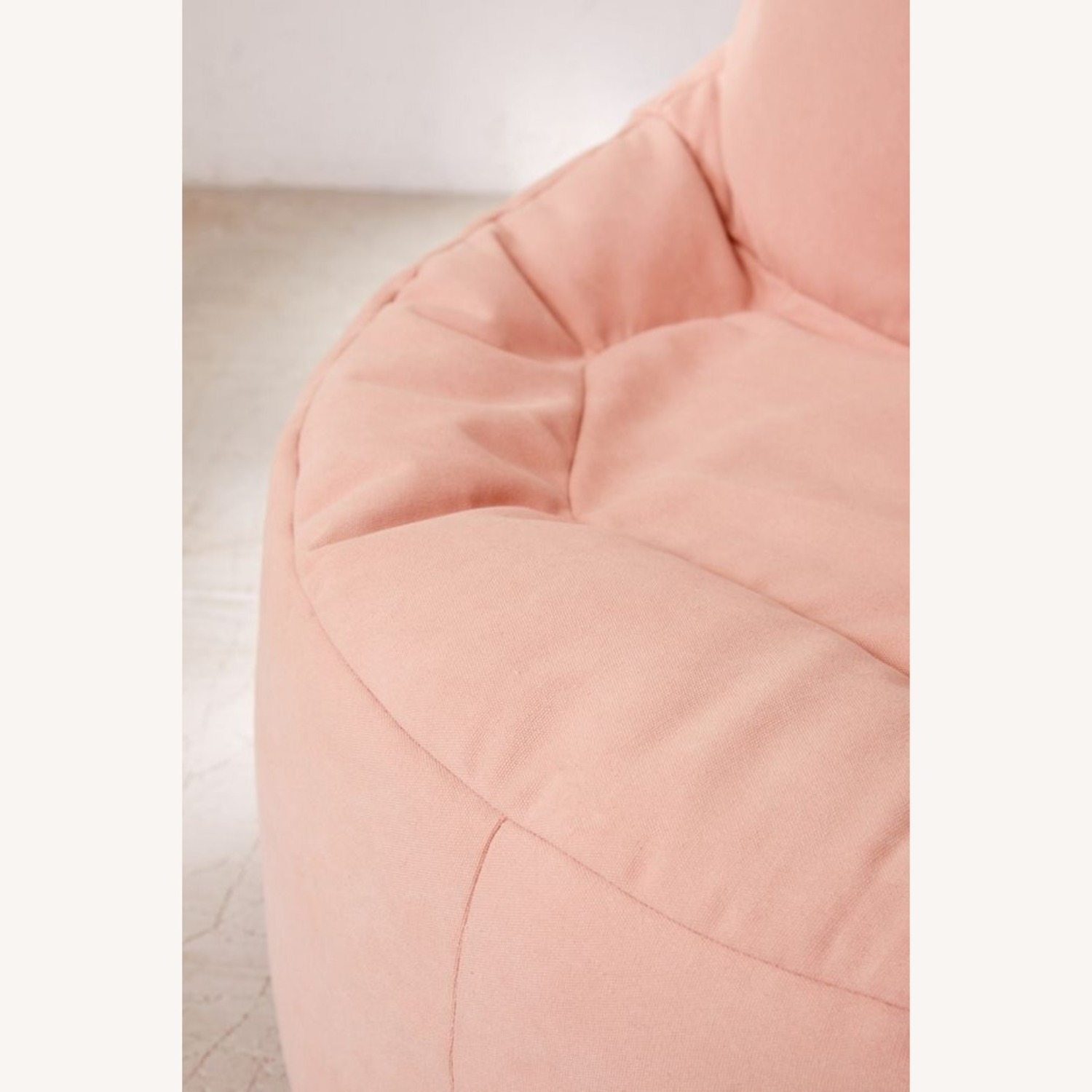 Urban Outfitters Dusty Rose Bean Bag - image-2