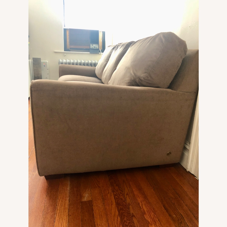 American Leather Alpaca Wool Capuchino 3 Seat Sofa - image-2