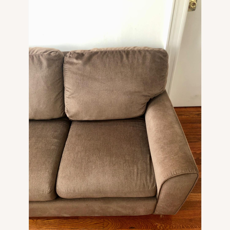 American Leather Alpaca Wool Capuchino 3 Seat Sofa - image-3