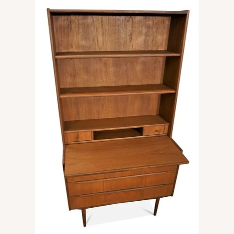 Vintage Danish Comfort Bookcase / Secretary - image-5