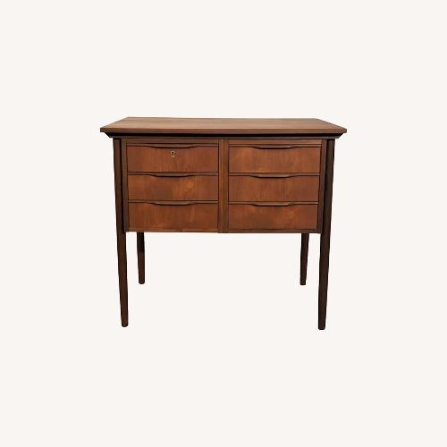 Used Vintage Danish Teak Cabinet Dresser (Cykel) for sale on AptDeco