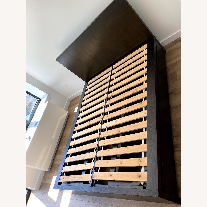 West Elm Full Storage Platform Bed Set w/6 Drawers - image-3