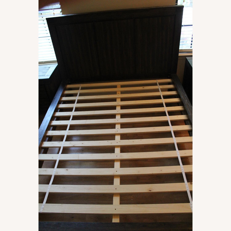 Macy's Queen Platform Bed Brown - image-4