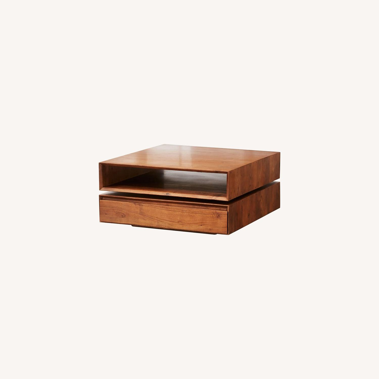 CB2 Spin Rotating Coffee Table - image-0