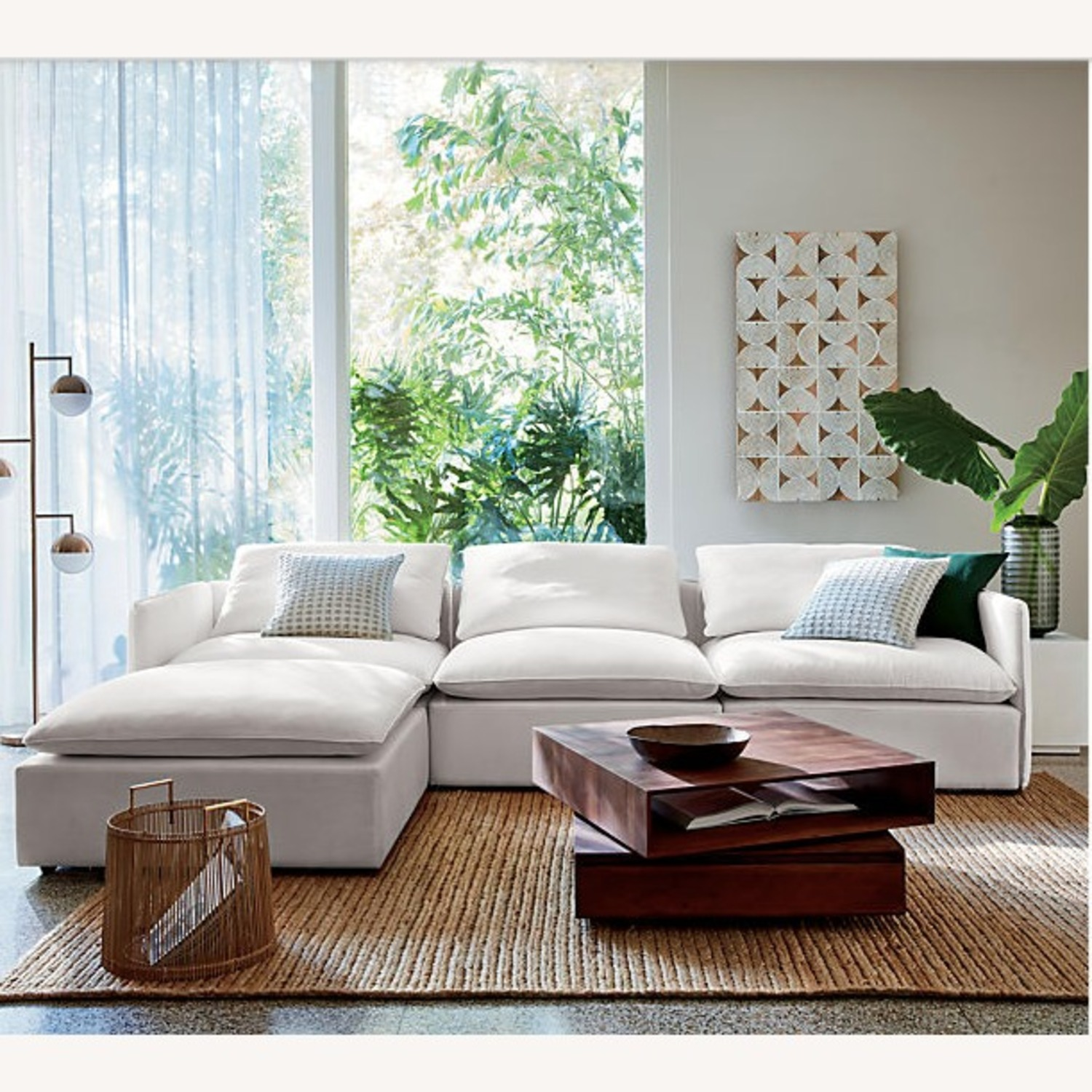 CB2 Spin Rotating Coffee Table - image-2