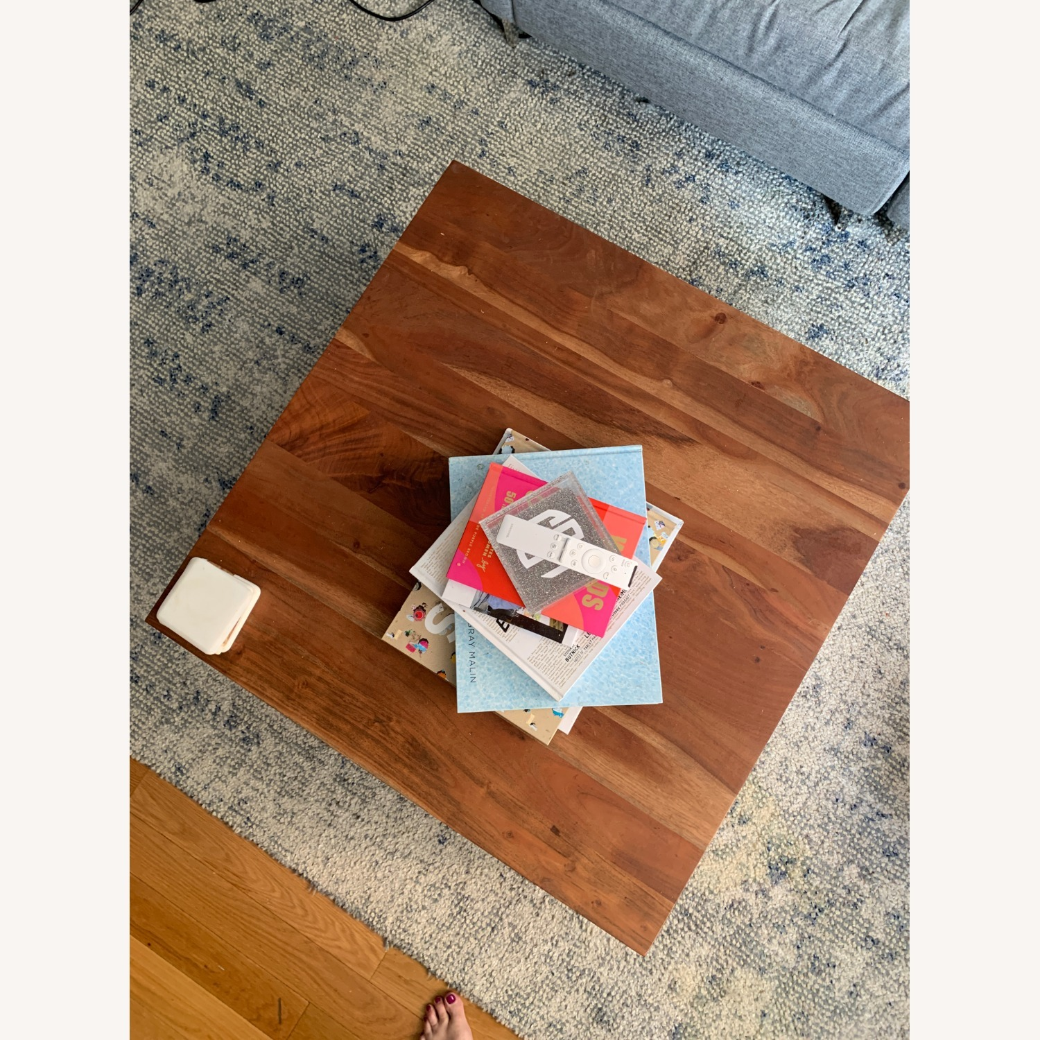 CB2 Spin Rotating Coffee Table - image-5