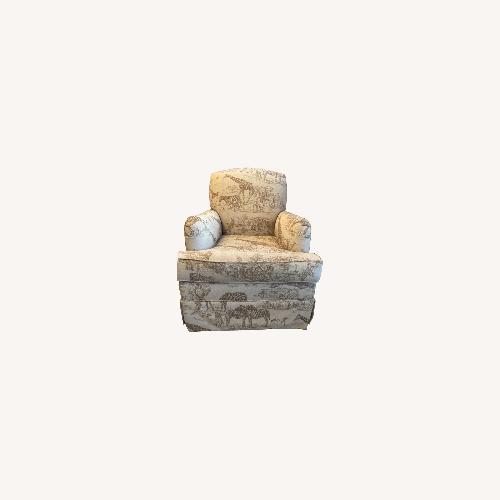 Used Ballard Designs Swivel Chair for sale on AptDeco