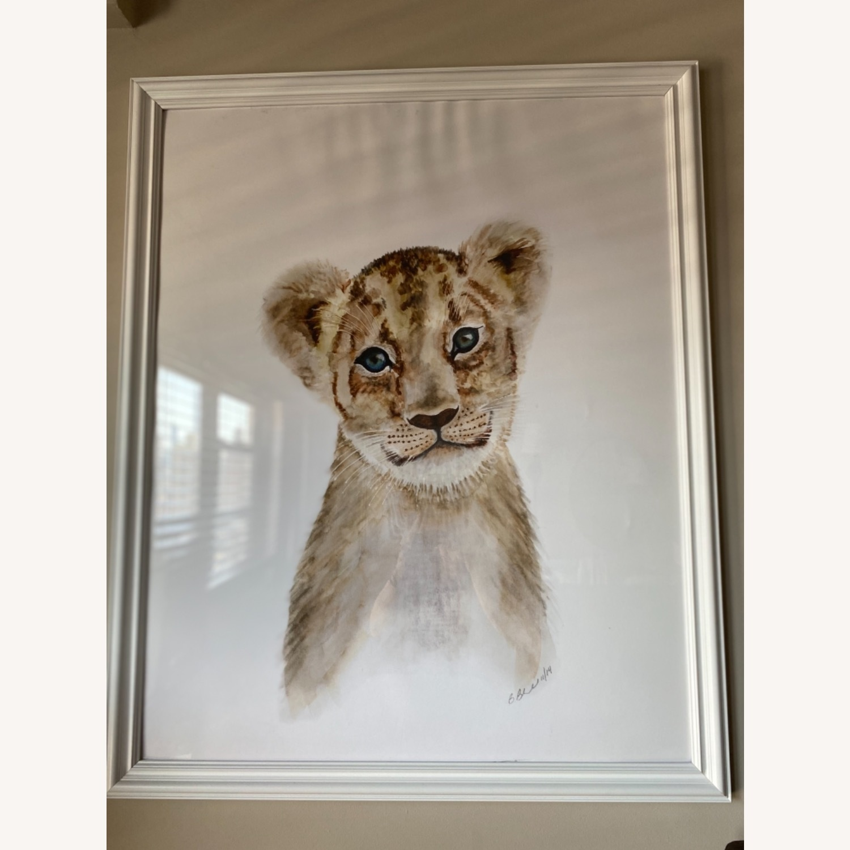Three Animal Nursery Framed Large Prints Pictures - image-1