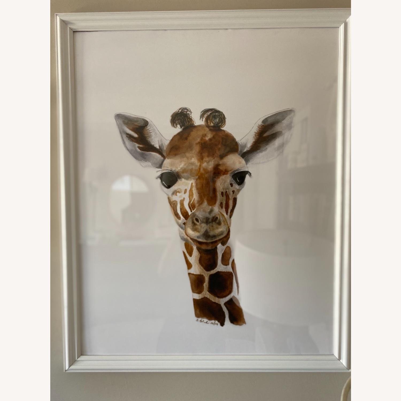 Three Animal Nursery Framed Large Prints Pictures - image-3