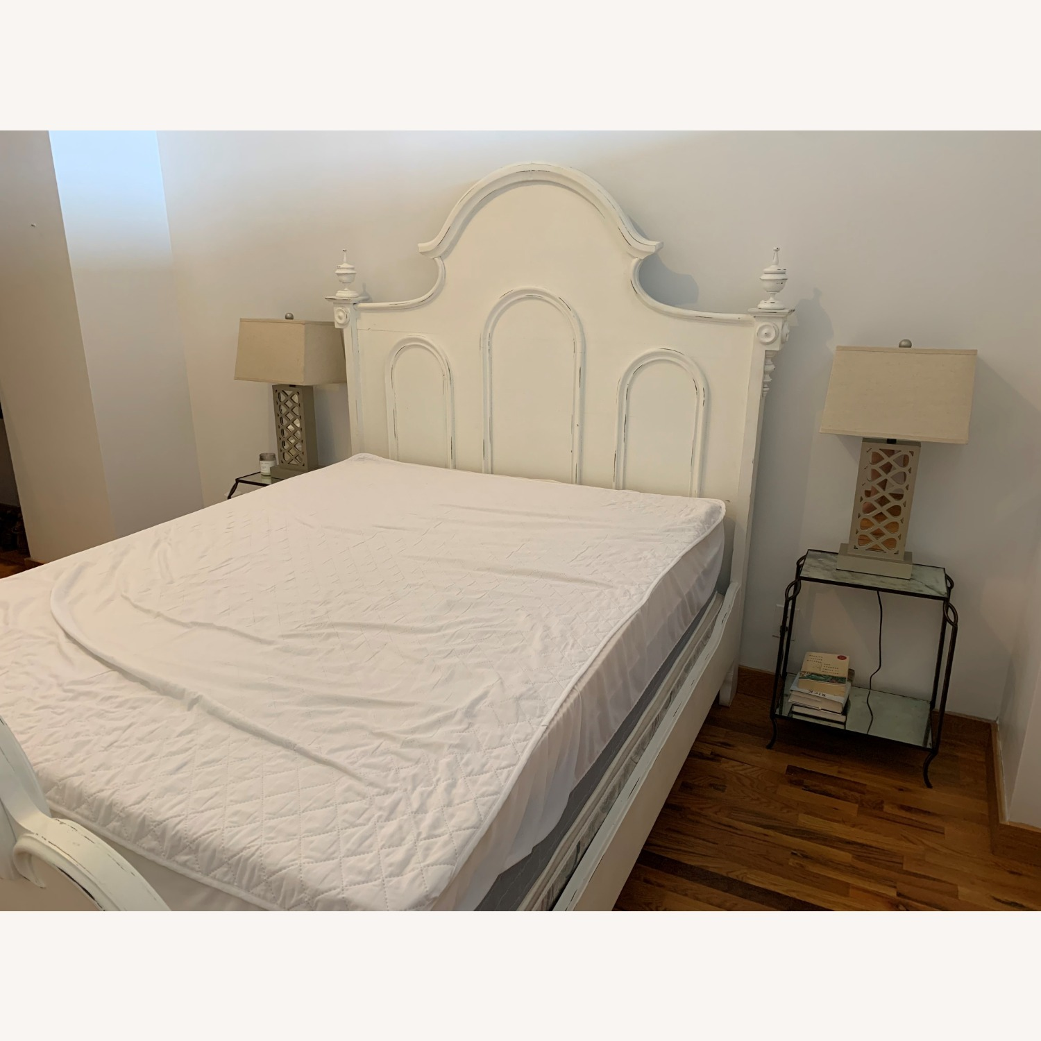 Lillian August White Bed - image-1