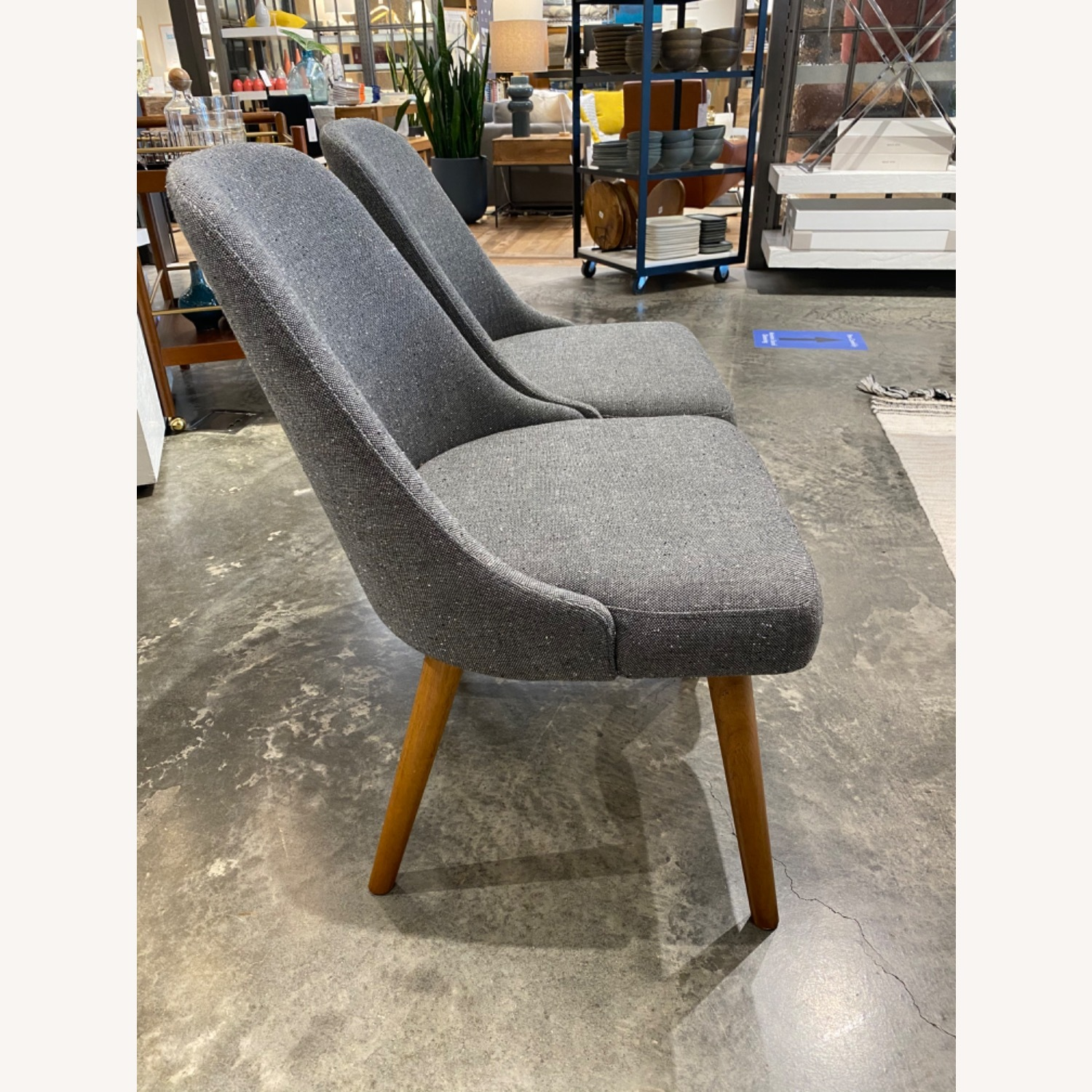 West Elm Mid Century Dining Chair (Set of 2) - image-2