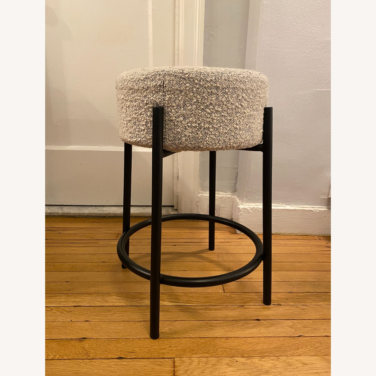 CB2 PEG Upholstered Counter Stool - image-2