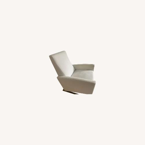 Used Raymour and Flanigan Cream Recliner Chair for sale on AptDeco