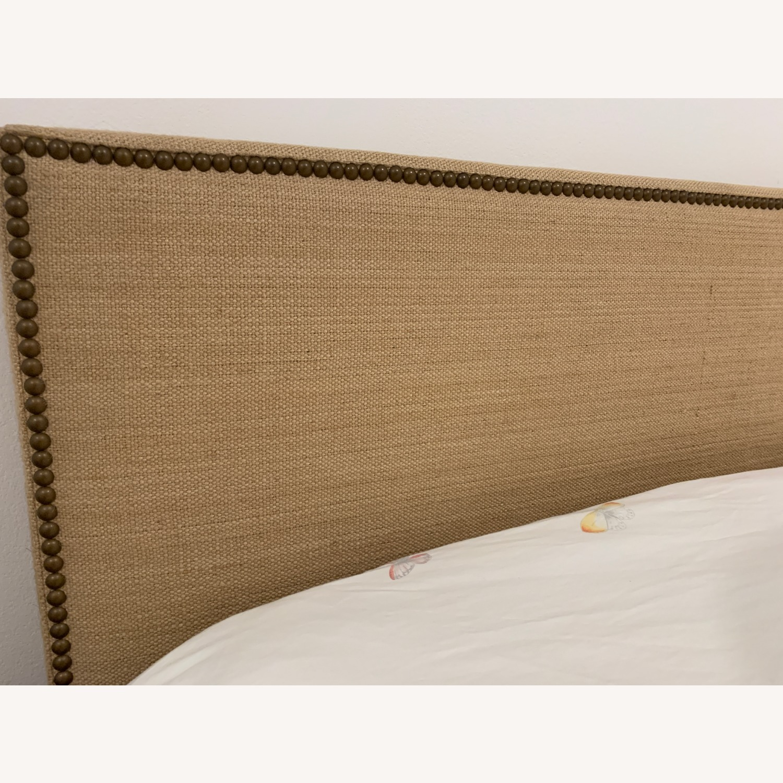West Elm Nailhead Bed in Jute - image-2