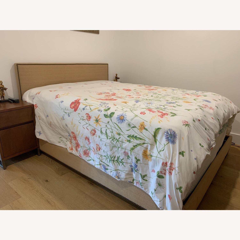 West Elm Nailhead Bed in Jute - image-3