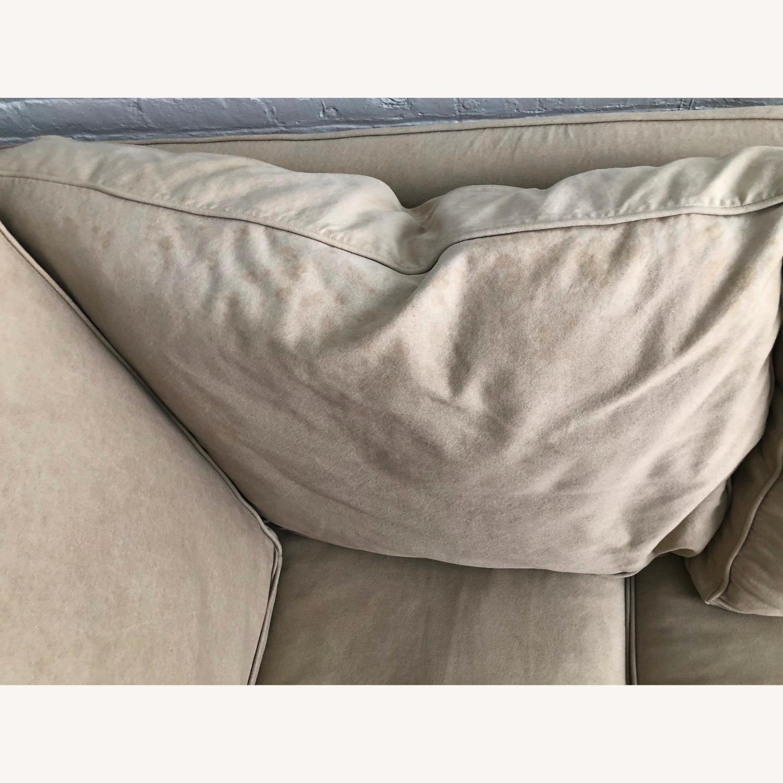 Pottery Barn Down-Stuffed 5-Seat L Sectional Sofa - image-7